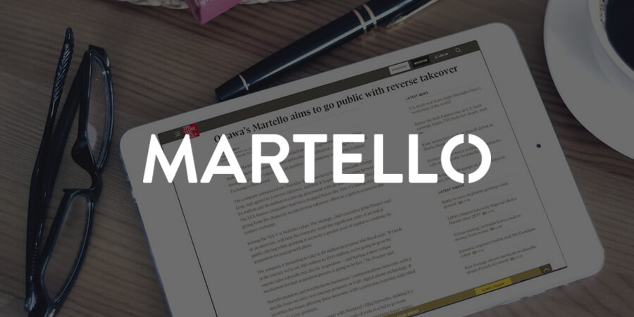 Martello Closes $7.5M Oversubscribed Private Placement, Begins Trading on TSX-V Exchange