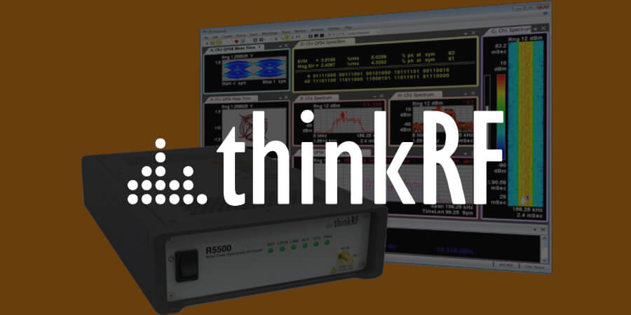 ThinkRF Releases Spectrum Analyzer with GPS Integration