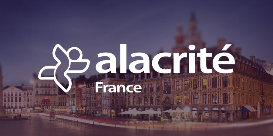 Alacrité France Launches First Two Start-ups