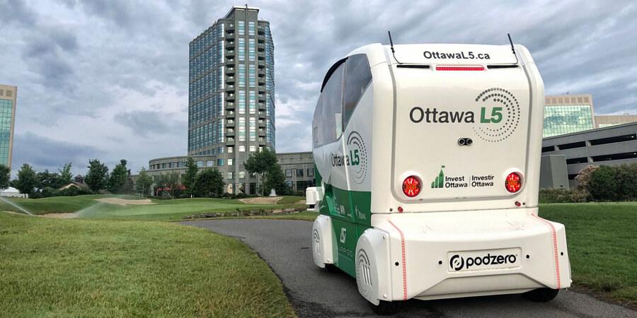 Autonomous Vehicle Testing On the Fairways