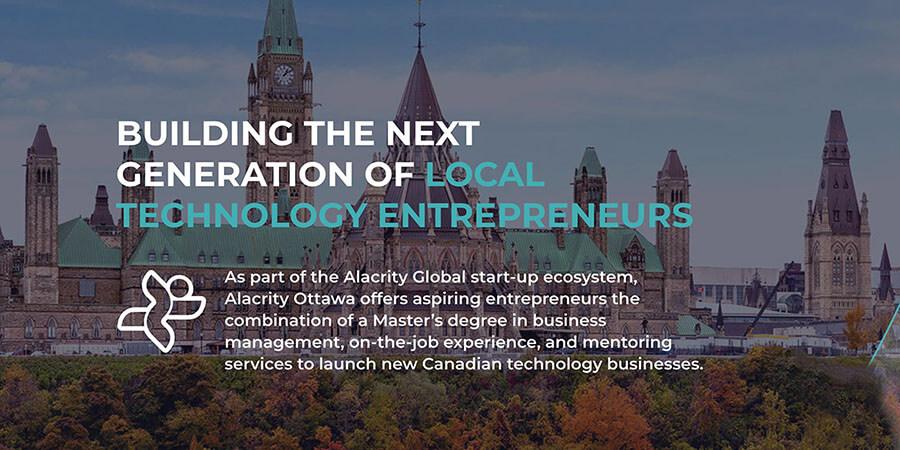 University of Ottawa and Wesley Clover Partner to Launch Alacrity Ottawa